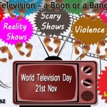 World Television Day, television boon , television bane,science boon or bane