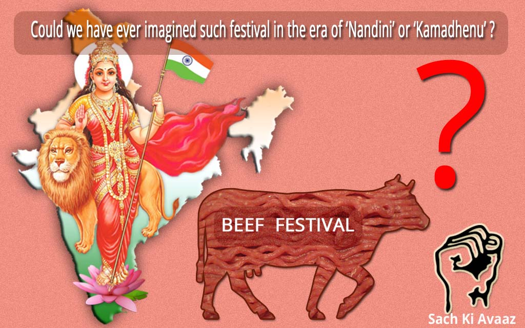 beef drama,political stunt, anti national